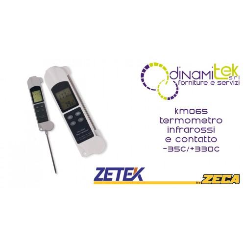 ZETEK KM065 TERMOMETRO INFRAROSSI E CONTATTO Dinamitek 1