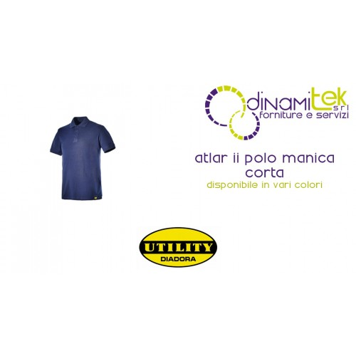 SHORT SLEEVE POLO WORK ATLAR II DIADORA UTILITY Dinamitek 1