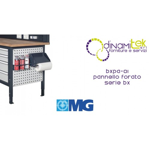 BXPA01 PANNELLO FORATO LATERALE MG SERIE BX Dinamitek 1